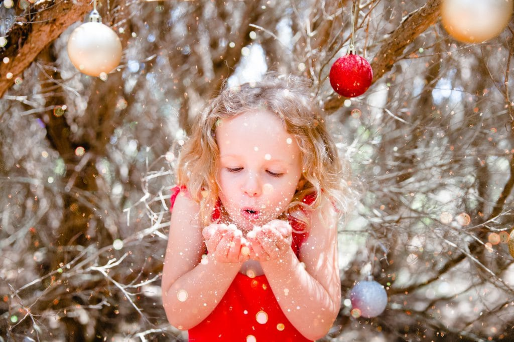 Christmas Photoshoot with Natural Lights Photography!