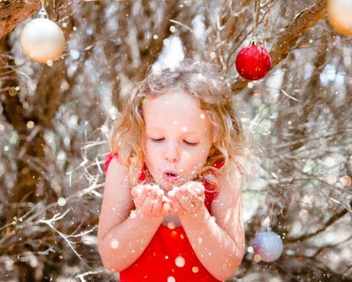 christmas portraits portrait family kids children celebrate happy