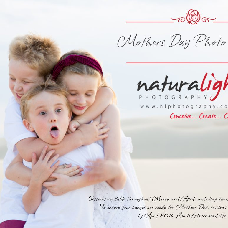 Mothers Day Photoshoot with Allarna, Daniel, Maggie, Blake and Xavier!