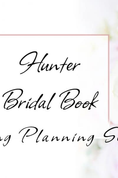 Hunter Wedding Planning Seminar presented by Hunter Bridal Book.