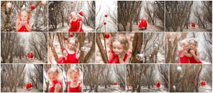 Christmas Photography Kids Santa