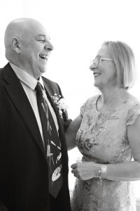 newly married couple at reception at noahs on the beach Newcastle weddings